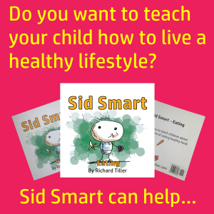 Do you want to teach your child about how to live a healthy lifestyle? The children's book Sid Smart can help; it teaches children about health and nutrition.