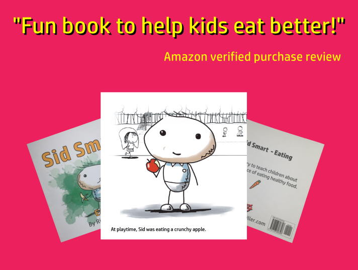 Sid Smart - the children's book about health and nutrition receives a great review.